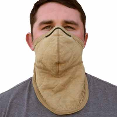 PGI BarriAire Gold Particulate Mask with Neck Gaiter - 31904-00-194071 - Front