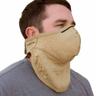 PGI BarriAire Gold Particulate Mask with Neck Gaiter - 31904-00-194071 - Quarter