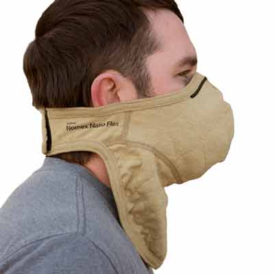 PGI BarriAire Gold Particulate Mask with Neck Gaiter - 31904-00-194071 - Side