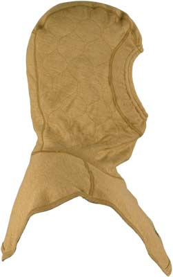 PGI BarriAire Gold Particulate Hood - Critical Coverage with Extended Bib and Rib Knit Face Opening 39701-00-194071 - Side