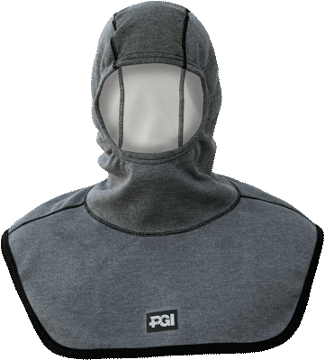 Complete Coverage Particulate Hood Extended Bib with Nomex<sup>®</sup> Nano Flex Face Opening 39705-00-169093