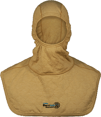 Complete Coverage Particulate Hood Extended Bib with Nomex<sup>®</sup> Nano Flex Face Opening 39705-00-194071