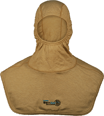Critical Coverage Particulate Hood Extended Bib with Nomex<sup>®</sup> Nano Flex Face Opening 39706-00-194071