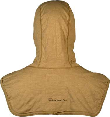 PGI BarriAire Gold Particulate Hood - Comprehensive Coverage with Extended Bib and Nomex<sup>®</sup> Nano Flex Sure‑Fit<sup>™</sup> Panel and Face Opening 39707-00-194071 - Back