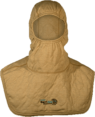 Comprehensive Coverage Particulate Hood Extended Bib with Nomex<sup>®</sup> Nano Flex Sure‑Fit<sup>™</sup> Panel and Face Opening Face Opening 39707-00-194071