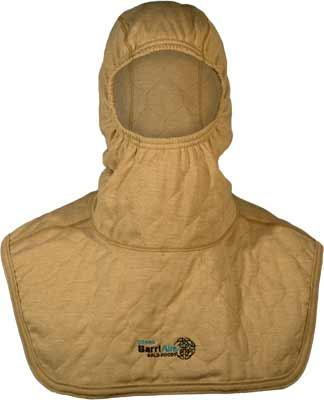 PGI BarriAire Gold Particulate Hood - Comprehensive Coverage with Extended Bib and Nomex<sup>®</sup> Nano Flex Sure‑Fit<sup>™</sup> Panel and Face Opening 39707-00-194071 - Front