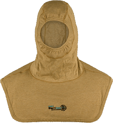 Critical Coverage Particulate Hood Extended Bib with Rib Knit Face Opening 3979471-1